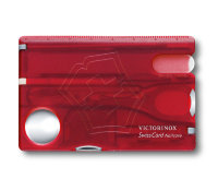 SwissCard Nailcare Victorinox 0.7240.T red trans