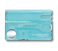SwissCard Nailcare Victorinox 0.7240.T21 ice-blue trans